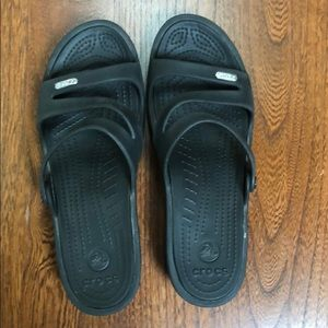 Crocs 😎 Black Sandals